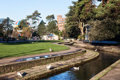 Lower Gardens in Bournemouth town centre, United Kingdom Stock Photos