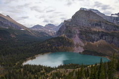 Lower Grinnell Lake Royalty Free Stock Photo