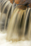Lower Huron River Falls Royalty Free Stock Photo