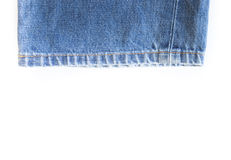 Lower leg pants blue jean Royalty Free Stock Photography