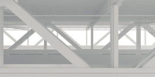 Lower level фона моста Стоковые Изображения