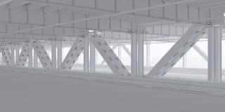 Lower level фона моста Стоковое Изображение