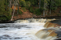 Lower level Tahquamenon falls Stock Photo