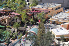 Lower Lot at Universal Studios Hollywood Stock Image