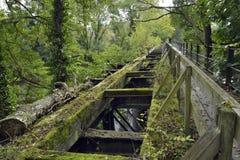 Lower Lydbrook Railway Bridge Royalty Free Stock Photo