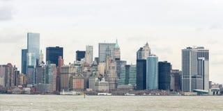 Lower Manhatta NYC  Panorama Royalty Free Stock Photo