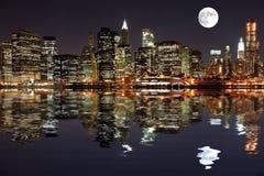 Lower Manhattan imagem de stock royalty free