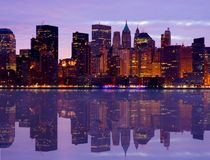 Lower Manhattan Foto de Stock Royalty Free
