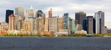 Lower Manhattan Fotografia Stock Libera da Diritti