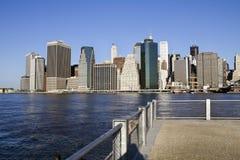 Lower Manhattan Photos libres de droits