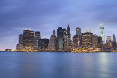 Lower Manhattan. Stock Photos
