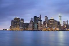 Lower Manhattan. Stock Photos