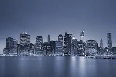 Lower Manhattan. Royalty-vrije Stock Foto