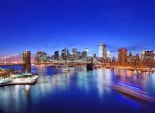 Lower Manhattan Stockfotografie