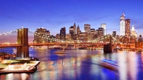 Lower Manhattan imagem de stock