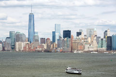 Lower Manhattan Imagem de Stock Royalty Free