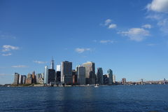 Lower Manhattan 7 Royaltyfri Bild