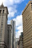 Lower Manhattan Architecture Royalty Free Stock Photo