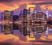 Lower Manhattan Royalty Free Stock Photography