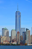Lower Manhattan et un World Trade Center Photos stock