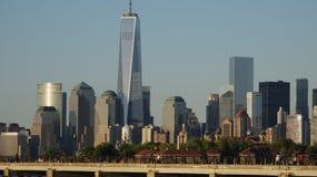Lower Manhattan financeiro do distrito imagens de stock royalty free