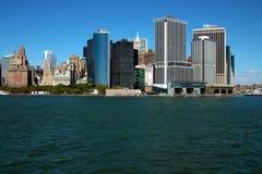 Lower Manhattan-Finanzbezirk stockfotografie