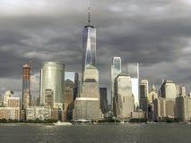 Lower Manhattan i New York City arkivfoton