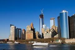 Lower Manhattan linia horyzontu fotografia royalty free