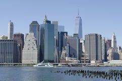 Lower Manhattan Miasto Nowy Jork Obraz Royalty Free