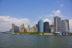 Lower Manhattan - New York Stock Photo