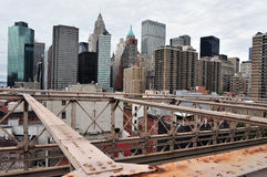 Lower Manhattan - New York Royaltyfri Fotografi