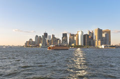 Lower Manhattan, New York Stock Afbeeldingen