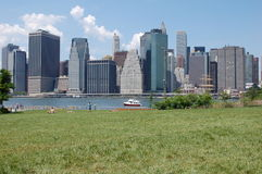 Lower Manhattan, New York City Royalty Free Stock Image