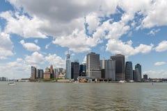 Lower Manhattan - New York City Royaltyfria Bilder