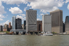 Lower Manhattan - New York City Royaltyfria Foton