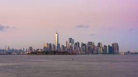 Lower Manhattan New York City stock footage