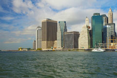 Lower Manhattan in New York City Stock Photography