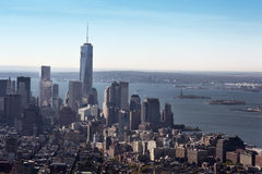 Lower Manhattan New York City Royalty Free Stock Image