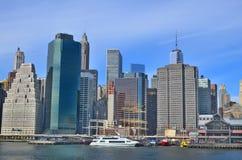 Lower Manhattan Royalty Free Stock Photography