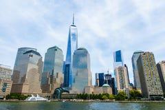 Lower Manhattan, New York, U.S.A. Fotografie Stock