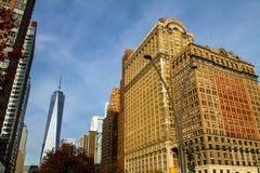 Lower Manhattan, New York Royalty Free Stock Image
