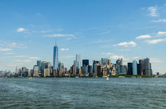 Lower Manhattan, New York Royalty Free Stock Image