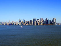 Lower Manhattan, Nueva York fotografía de archivo libre de regalías
