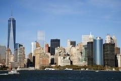 Lower Manhattan, NY Royalty Free Stock Photo