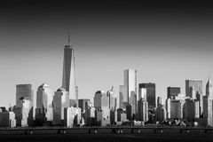 Lower Manhattan and One World Trade Center or Freedom Tower New Stock Images