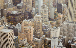 Lower Manhattan panorama, Miasto Nowy Jork Zdjęcia Stock