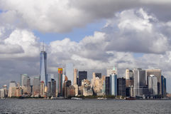 The Lower Manhattan Panorama, New York City. Photo presents the Lower Manhattan Panorama Royalty Free Stock Photo
