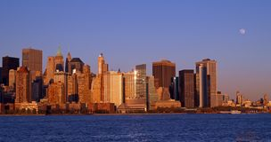 Lower Manhattan Skyline Stock Images
