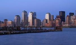 Lower Manhattan Skyline Royalty Free Stock Photo