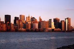 Lower Manhattan Skyline stock photos